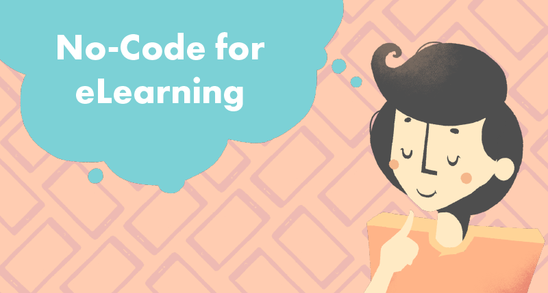 Top-5 No-Code Tools for eLearning cover photo