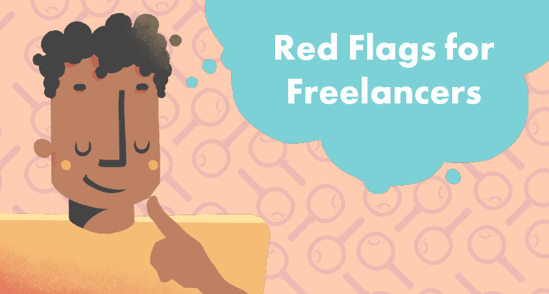 Top 5 Red Flags for Freelancers article cover photo