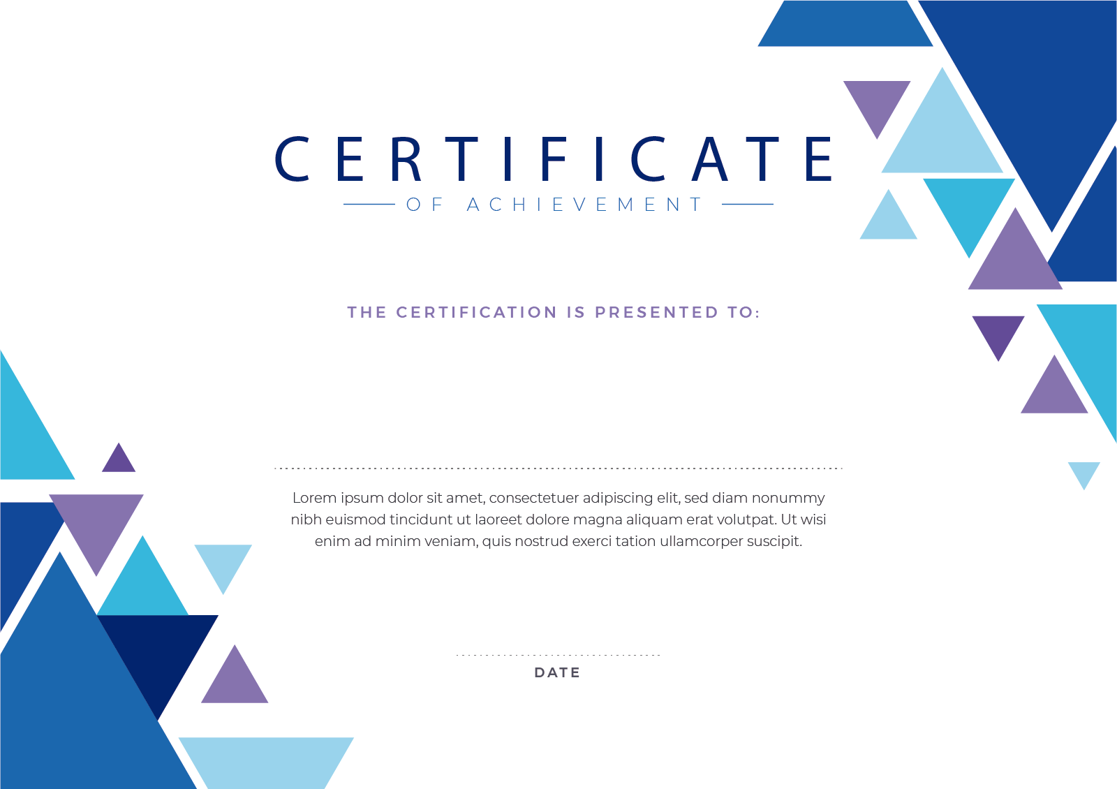 PDF certificate screenshot