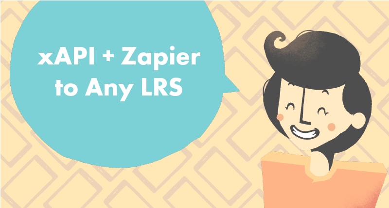Send xAPI Statements with Zapier to Any LRS tutorial cover photo