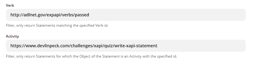change the statement elements to filter the statements that should trigger the zap