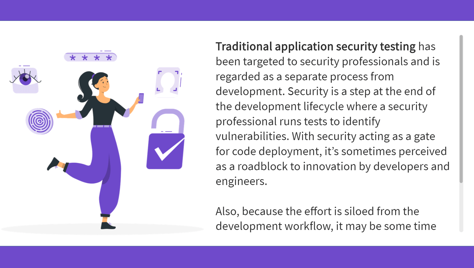 GitLab application security testing content from eLearning example