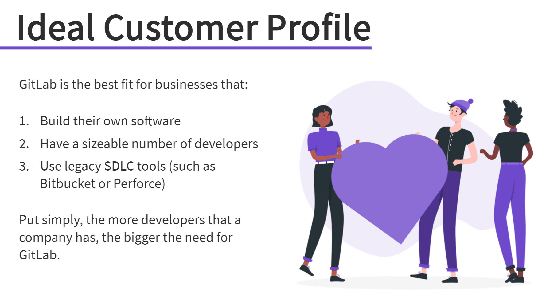 GitLab eLearning example with illustration from freepik stories