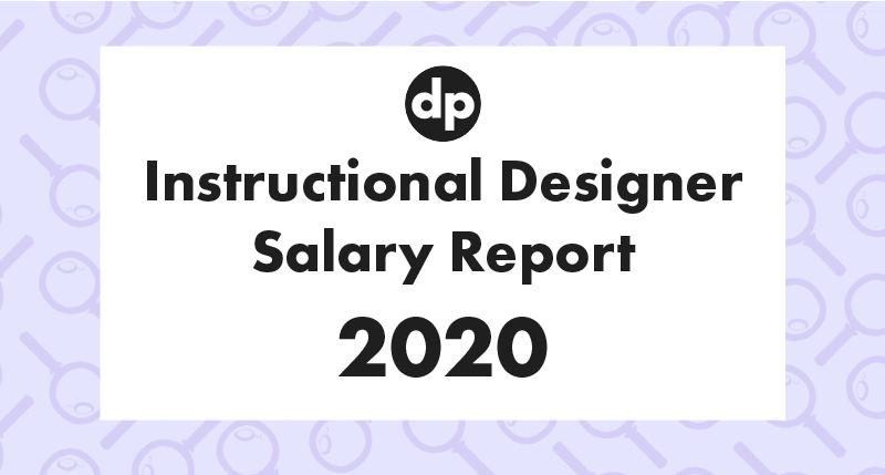 Instructional designer salary report 2020 cover photo