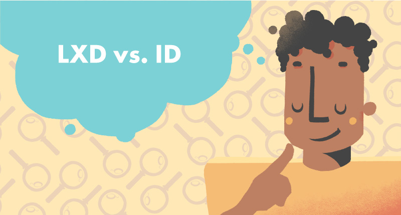 Learning Experience Designer vs. Instructional Designer Article Cover Photo