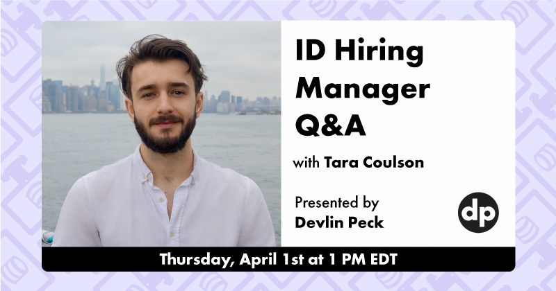 Instructional Design Hiring Manager Q&A Cover Photo