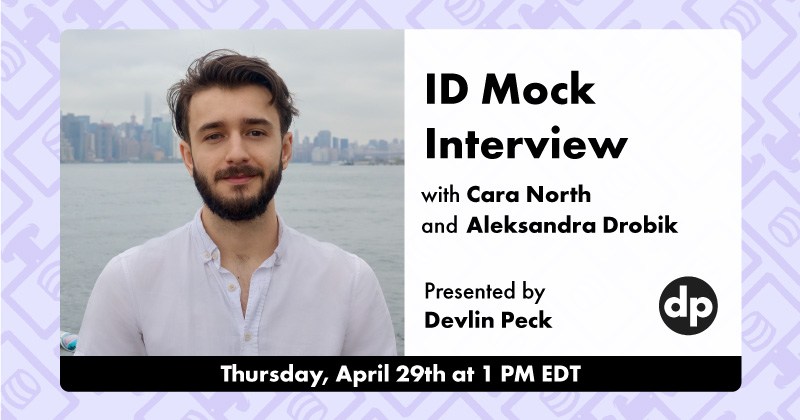 Instructional Design Mock Interview Live Event Cover Photo