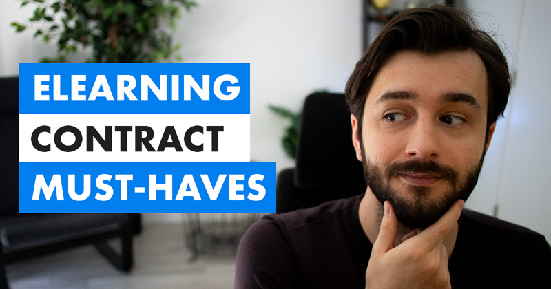 """Freelance eLearning Contract """"Must-haves"""" video cover photo"""