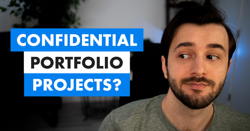 Including confidential projects in your eLearning portfolio video cover photo