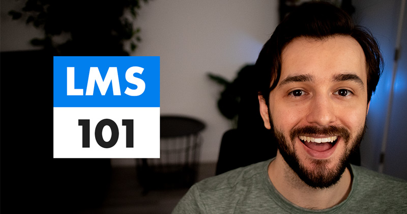 How to use a learning management system (LMS) video cover photo