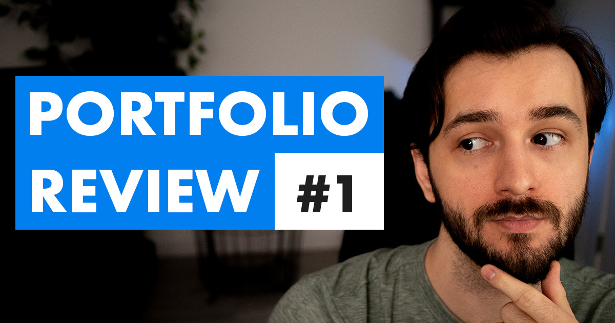 eLearning Portfolio Review Episode 1 Video Cover Photo