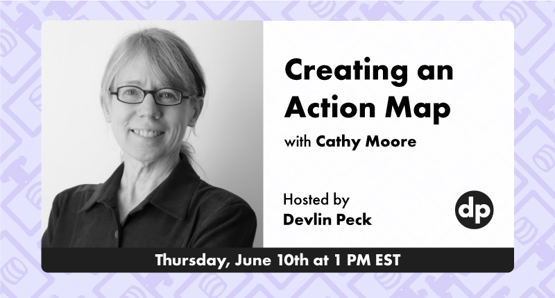Creating an Action Map with Cathy Moore live event cover photo