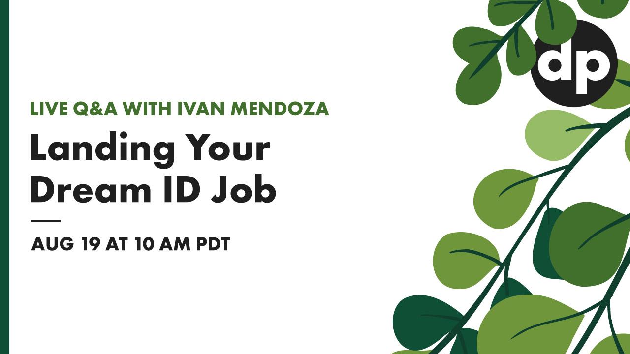 Landing your dream instructional design job - live Q&A with Ivan Mendoza cover photo