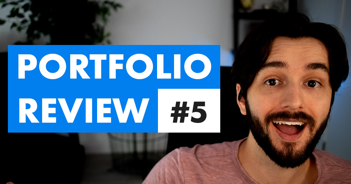 eLearning portfolio review episode 5 video cover photo