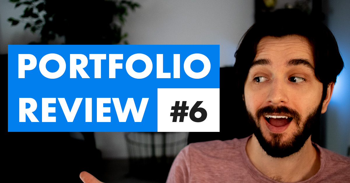 eLearning Portfolio Review episode 6 video cover photo