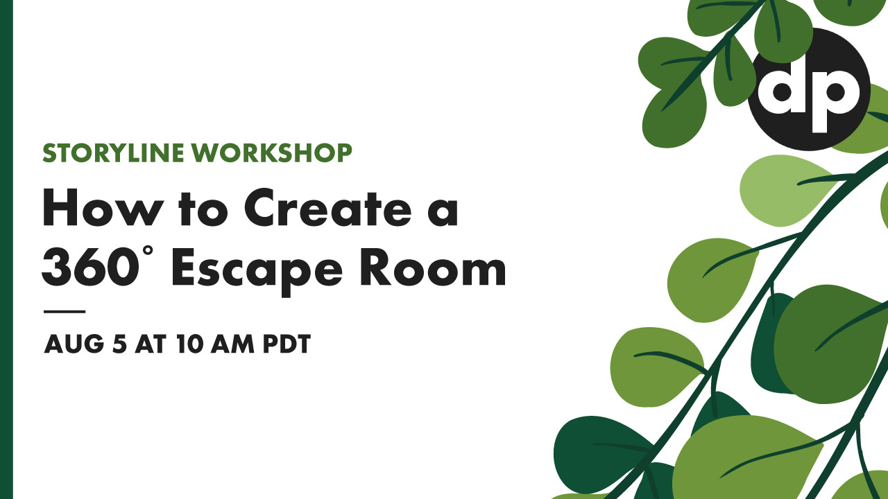 How to Create a 360 degree escape room in Articulate Storyline