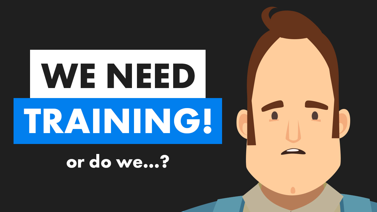 Is lack of training a problem? Video cover photo