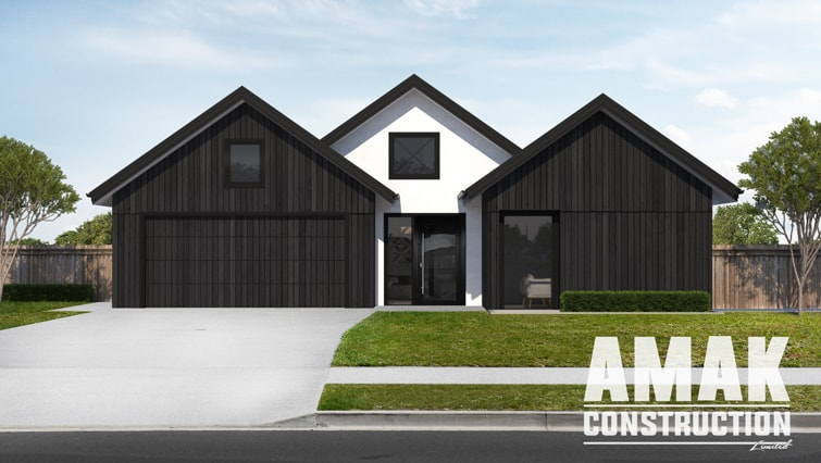 AMAK Construction house plans - The Juno