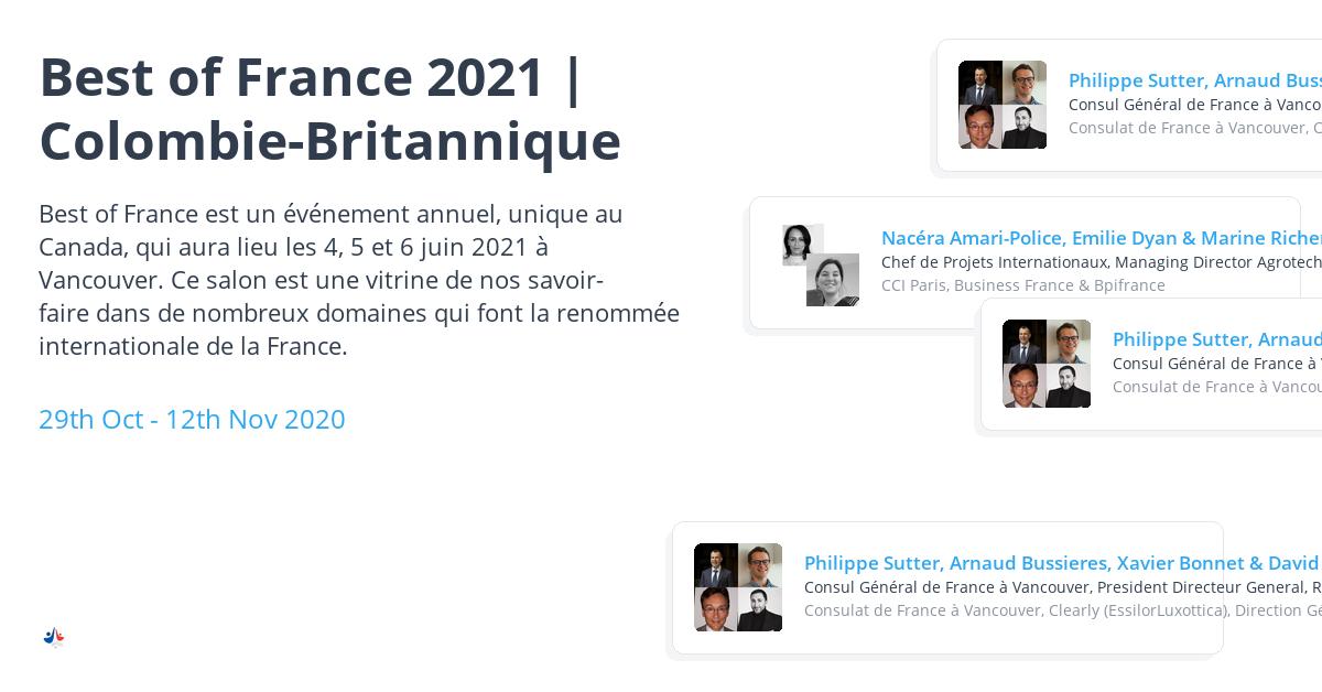 Arnaud Bussières présente les avantages de la Colombie-Britannique