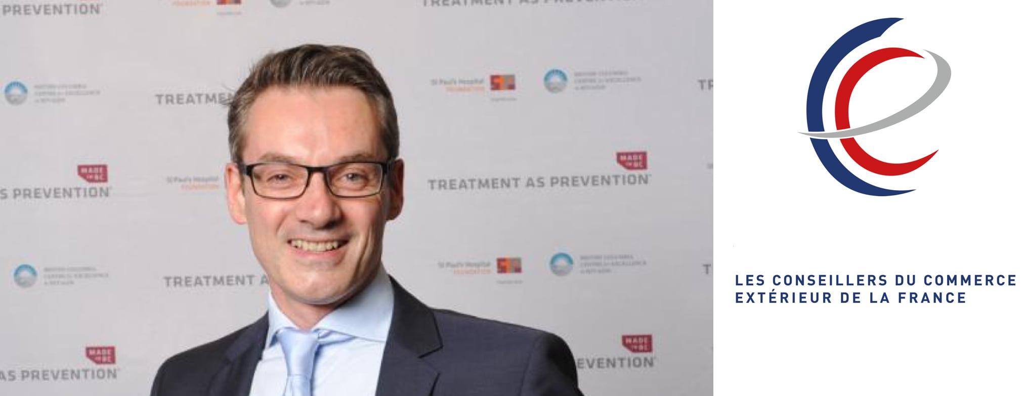 M. Franck Point devient Conseiller du Commerce Extérieur