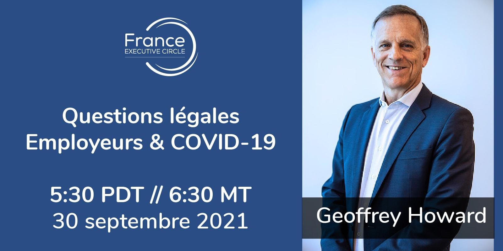 Questions légales Employeurs & COVID-19