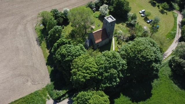 Drone photo taken 1st June 2021