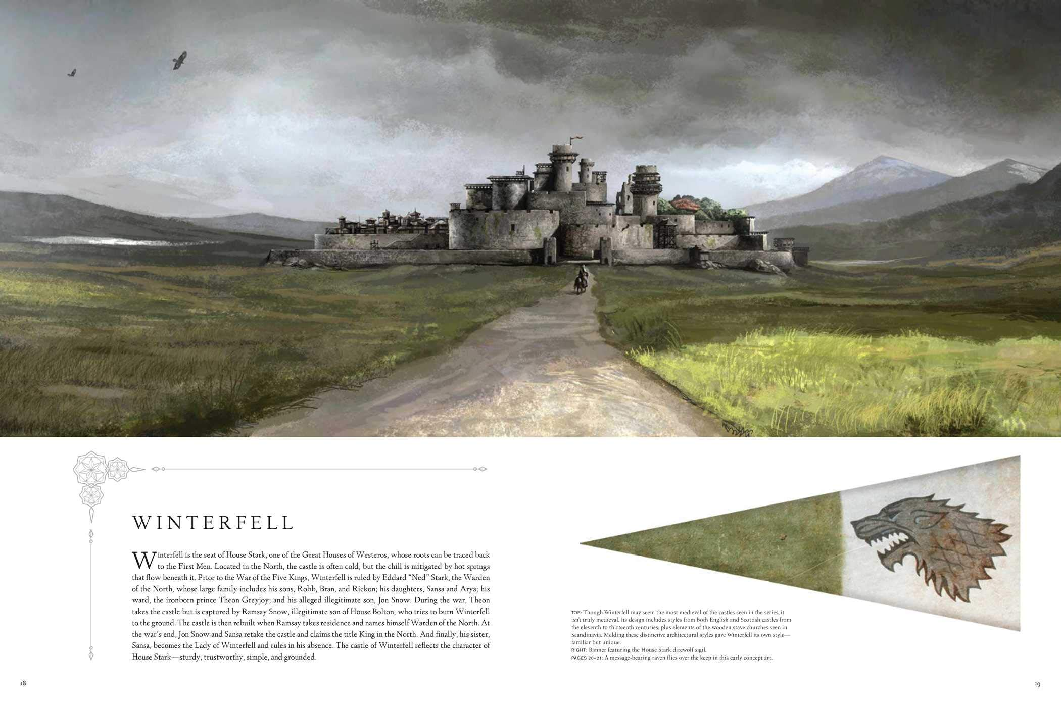 The Art of Game of Thrones Winterfell