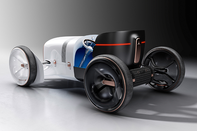 Mercedes-Benz-revive-the-heritage-car-to-all-electric-luxury-brand