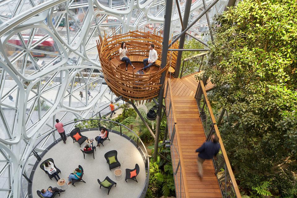 Amazon Spheres Inside