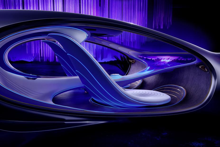 Mercedes-Benz Vision AVTR Concept interior