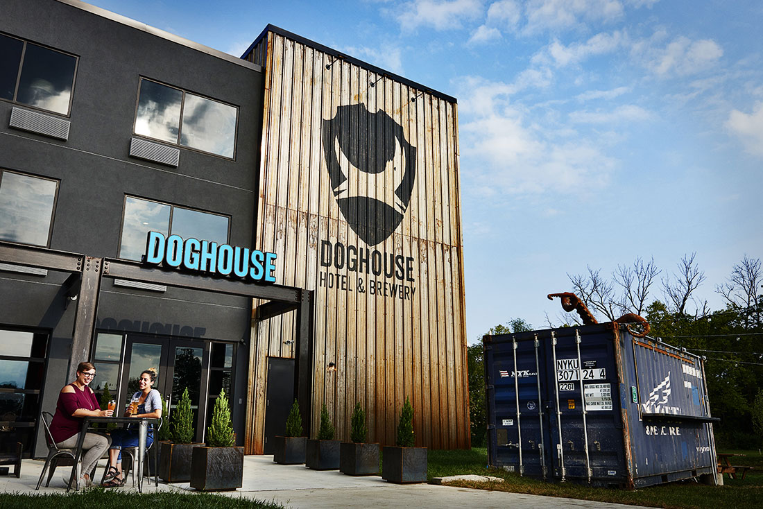 Doghouse beer hotel is the bachelor pad of the hotels