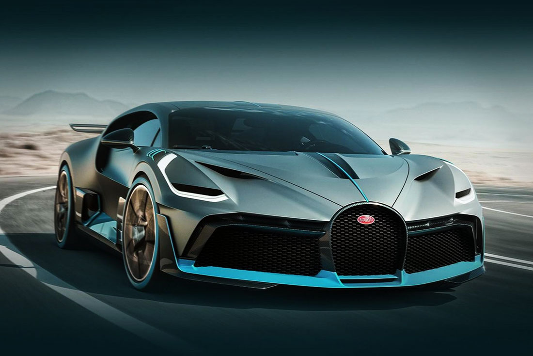 Bugatti 100th anniversary launched the Divo