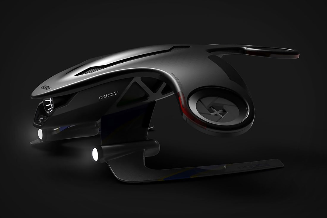 Audi patrone police drone