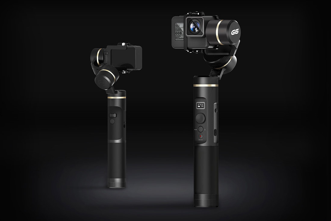 Feiyutech Feiyu G6 Gimbal is the best for GoPro