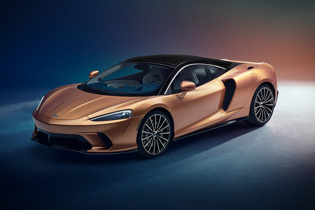 The new McLaren GT will mark the Grand Touring