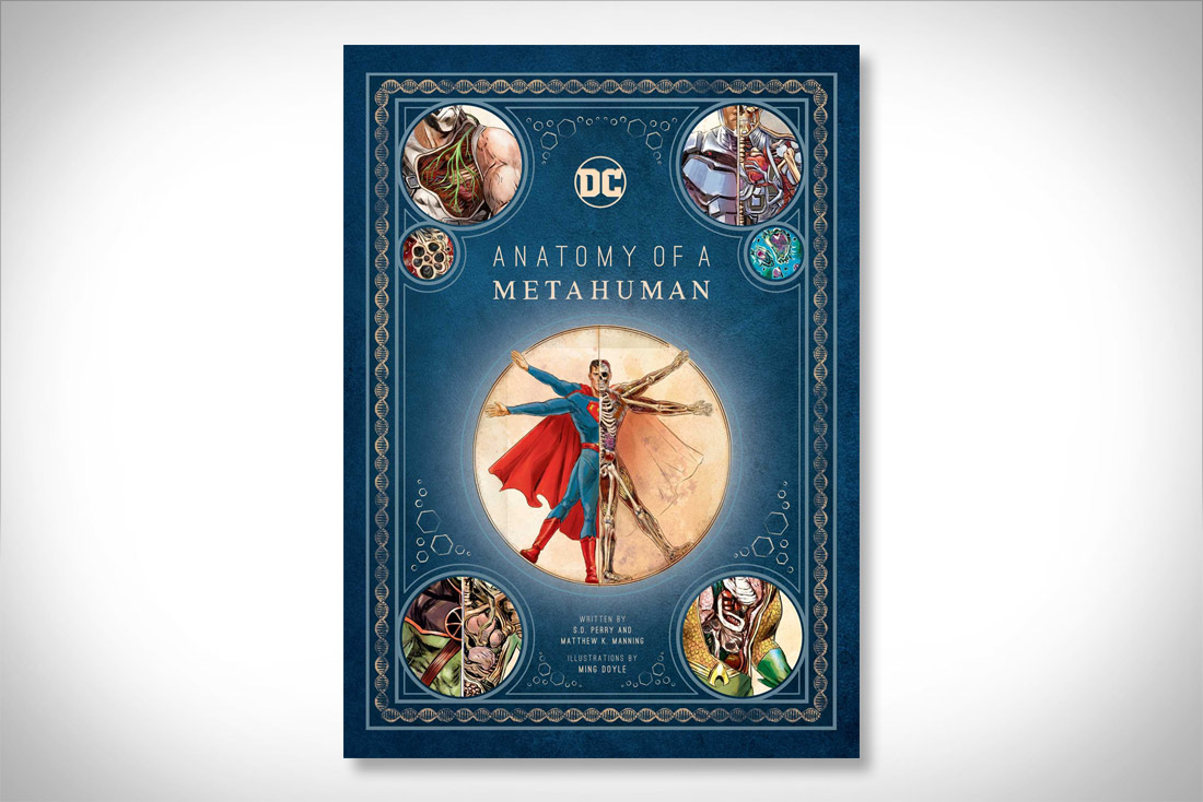 Anatomy of a Metahuman - by DC Comics