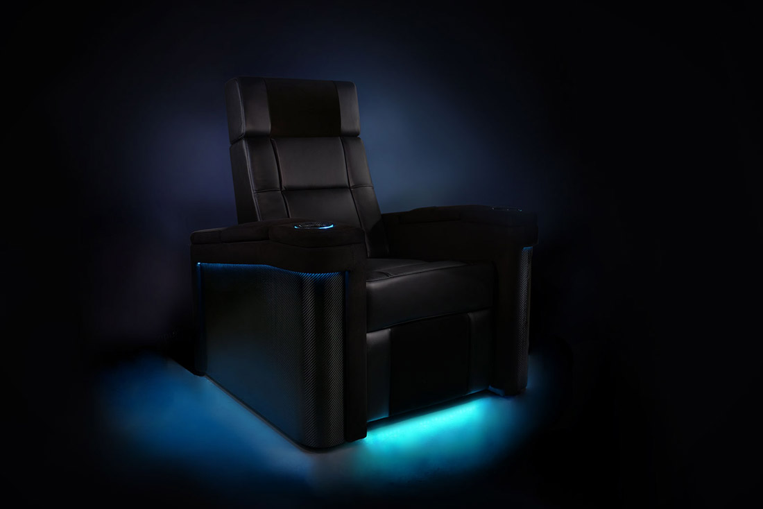 Valencia Theater Seating Chair is perfect for home Cinema