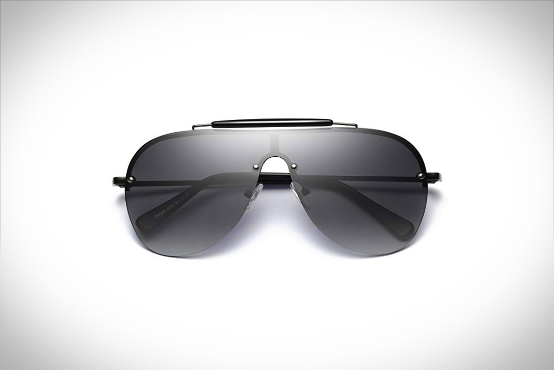 Bevi Polarized Aviator Sunglasses