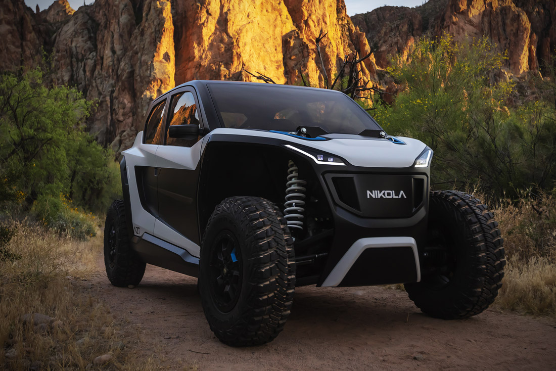 Nikola NZT is the impressive off-road electric EV