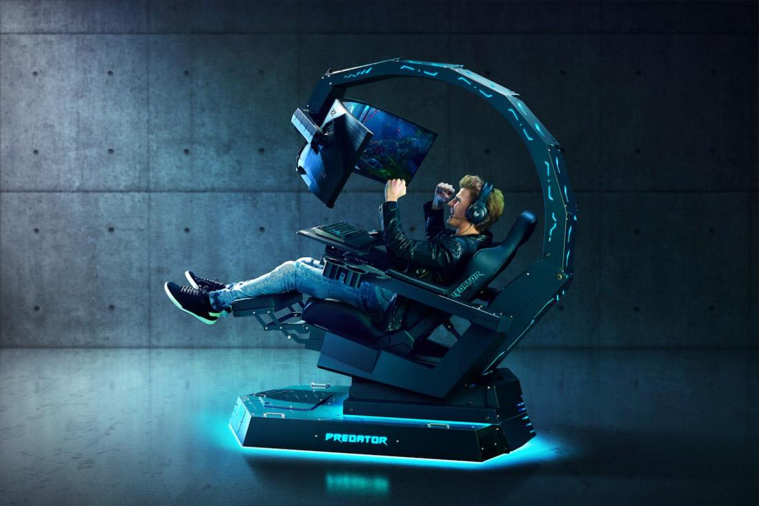 Acer's $14K Predator Thronos Gaming Chair is Insane
