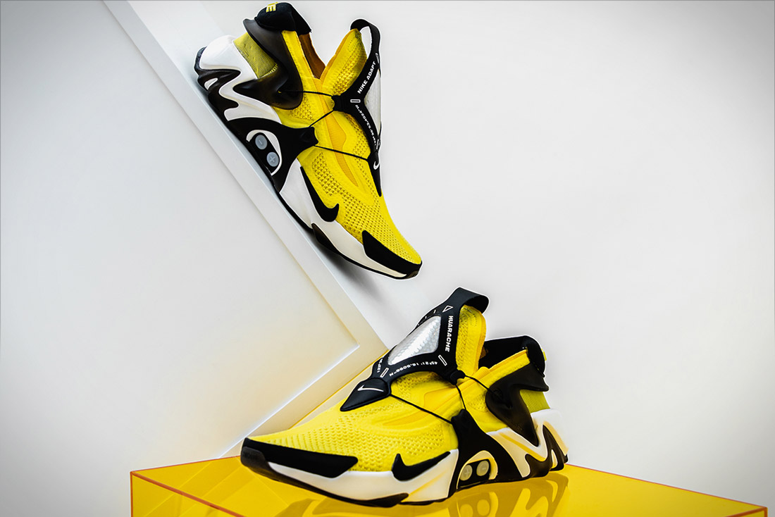 "Nike Adapt Huarache ""Opti-Yellow"""