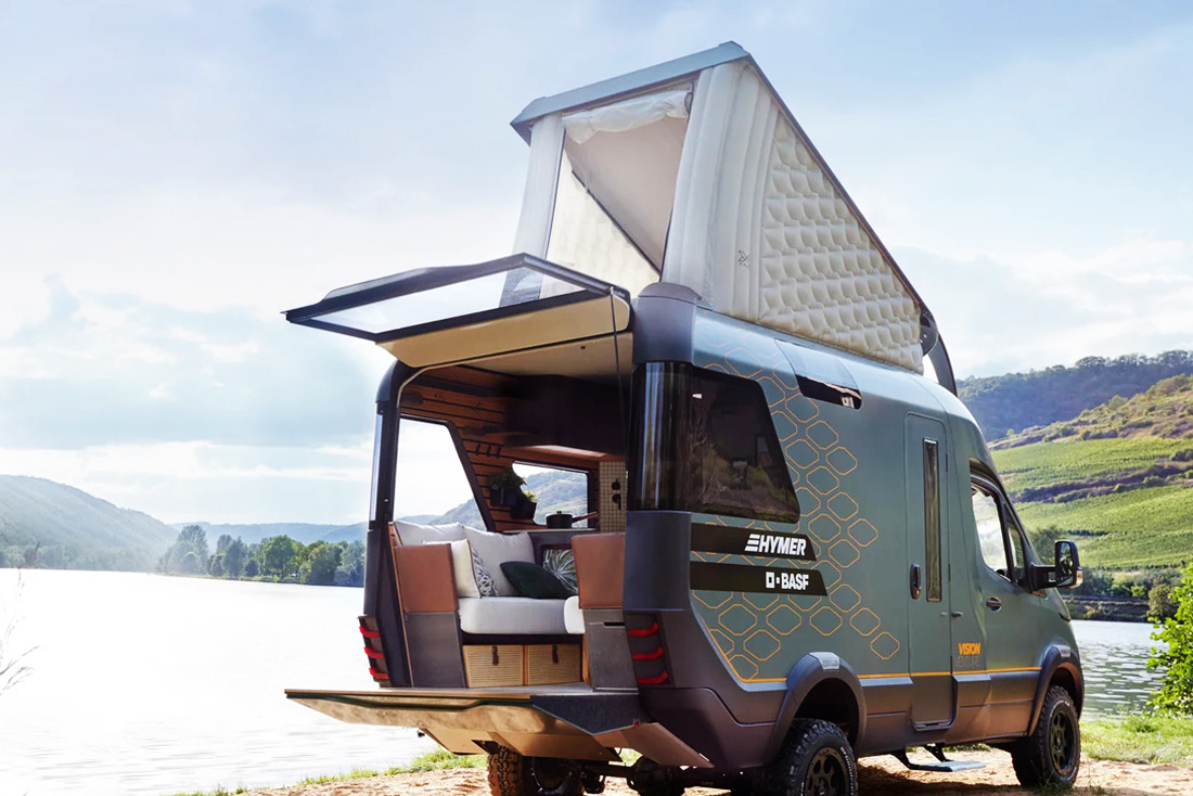 Concept Car VisionVenture - by Hymer