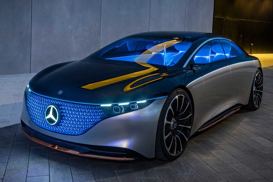 Mercedes-Benz Vision EQS 2020