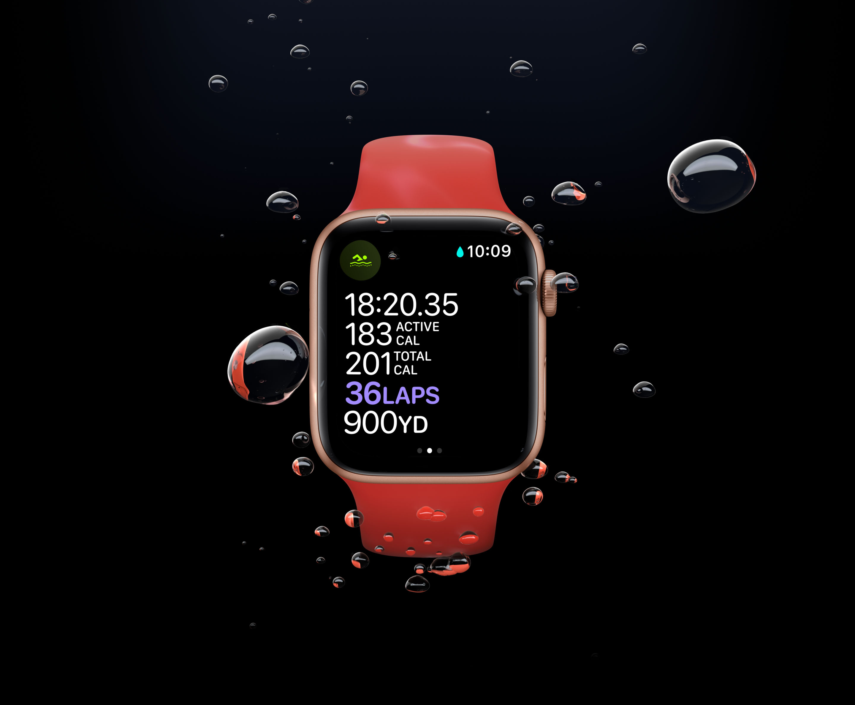 Apple Watch Series 6 Fitness Display