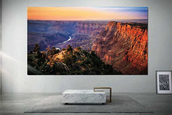 Samsung The Wall Luxury 8K modular TV