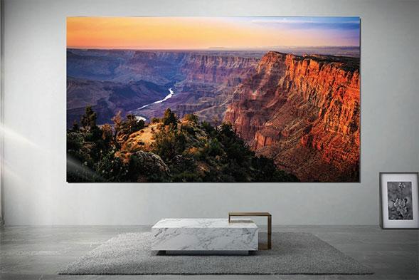Samsung The Wall Luxury 8K modular TV