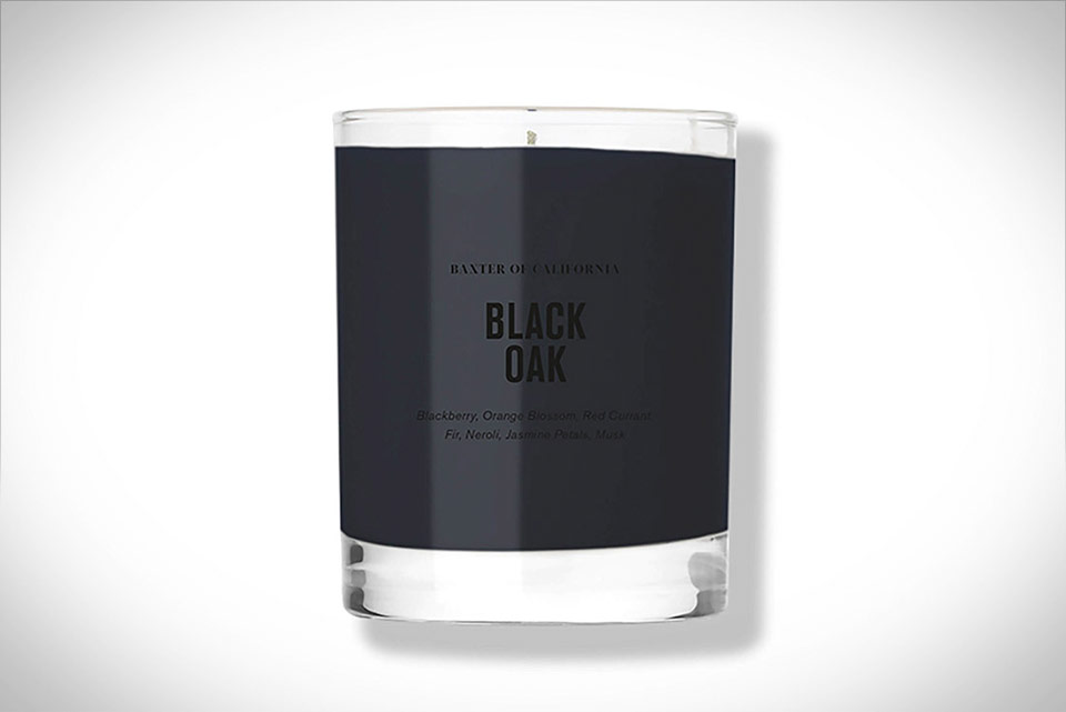 Baxter of California Black Oak Candle