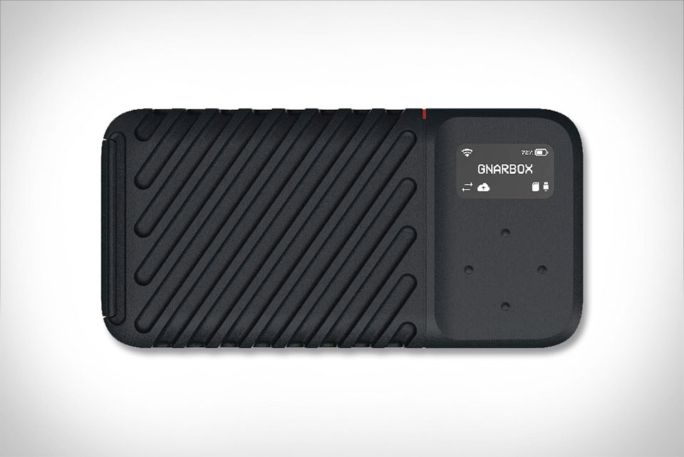GNARBOX 2.0 SSD Rugged Backup Device