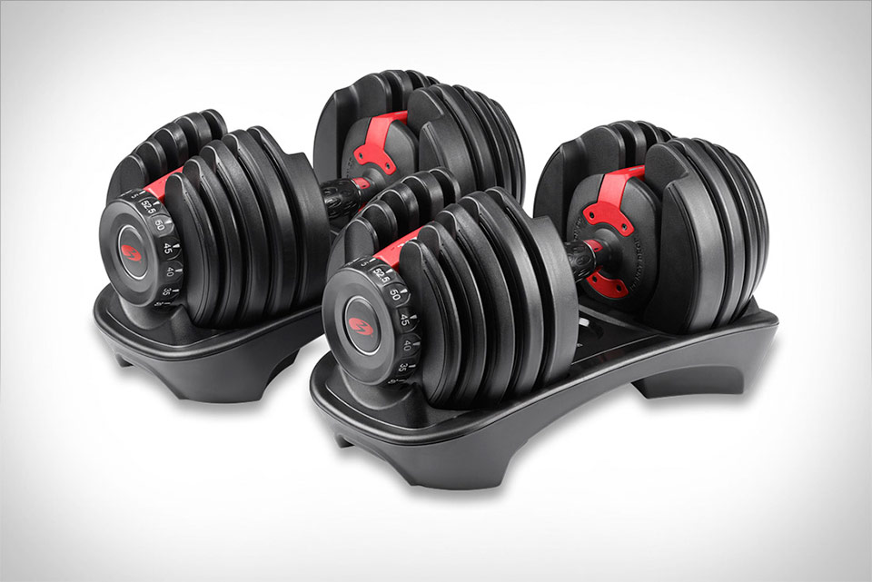 Bowflex SelectTech Adjustable Dumbbells