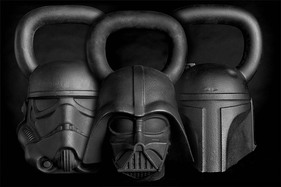 Star Wars Kettlebells